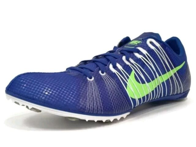 b97b21e6d4203f Nike Zoom Victory 2 Track and field Spikes Men s US 12 Blue 555365-431 NEW