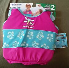 Details about  /Level 2~SwimSchool~2 Pc Swim Trainer//Swimsuit~Pink//Teal~2-4 Years~NWT~LV3