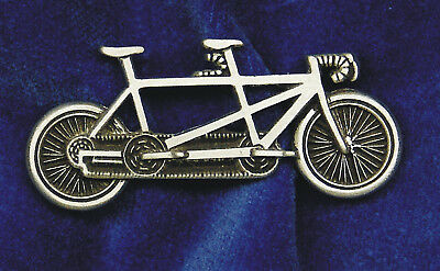 Empire Pewter Tandem Bike Pin