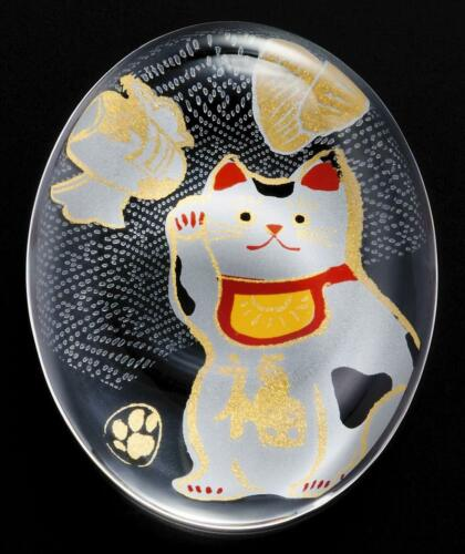 Aderia verrerie medetamono Baguettes Reste Manekineko Chat 6038 MADE IN JAPAN