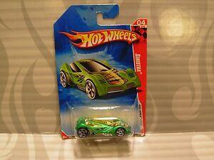 """Auto- & Verkehrsmodelle 2010 Hot Wheels """" Rennfahren Welt """" #206 =sinstra= Grün Modellbau"""