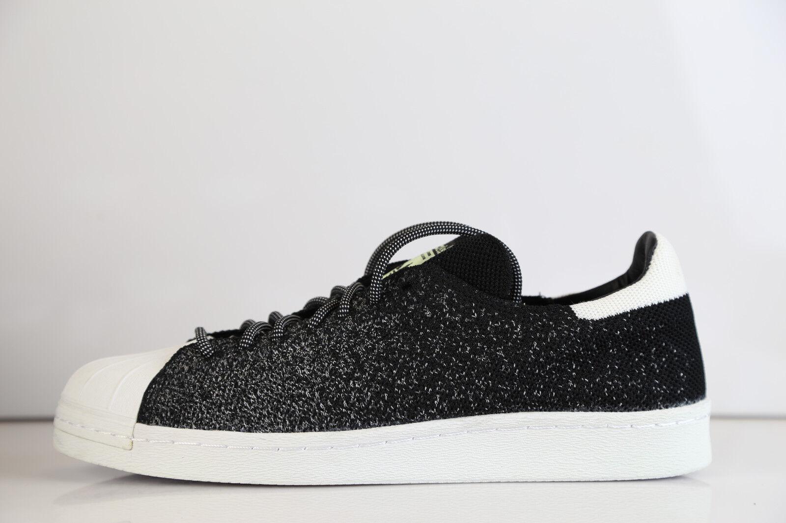 Adidas Superstar 80s PK ASG GID Glow S32029 8-11  prime knit all star black