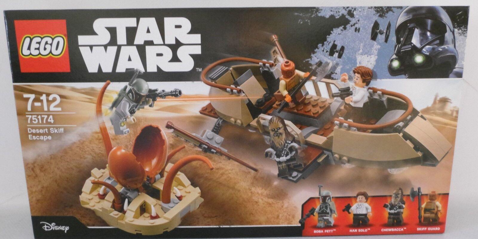 NEU LEGO® Star Wars™ 75174 Desert Skiff Escape OVP
