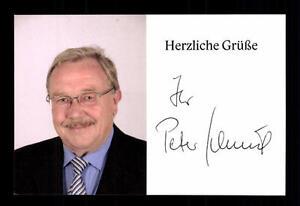 Brillant Peter Schmid Autogrammkarte Original Signiert ## Bc 90574 Politik