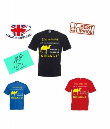 Lithuanian Men Man T-Shirt shirt High Quality Funny Joke Top Casual Tee S-2XL