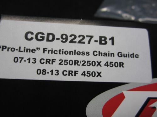HONDA BRP CHAIN GUIDE CRF 250 450 07-13 450x 08-13 CGD-9227-B1 08 09 10 11 12