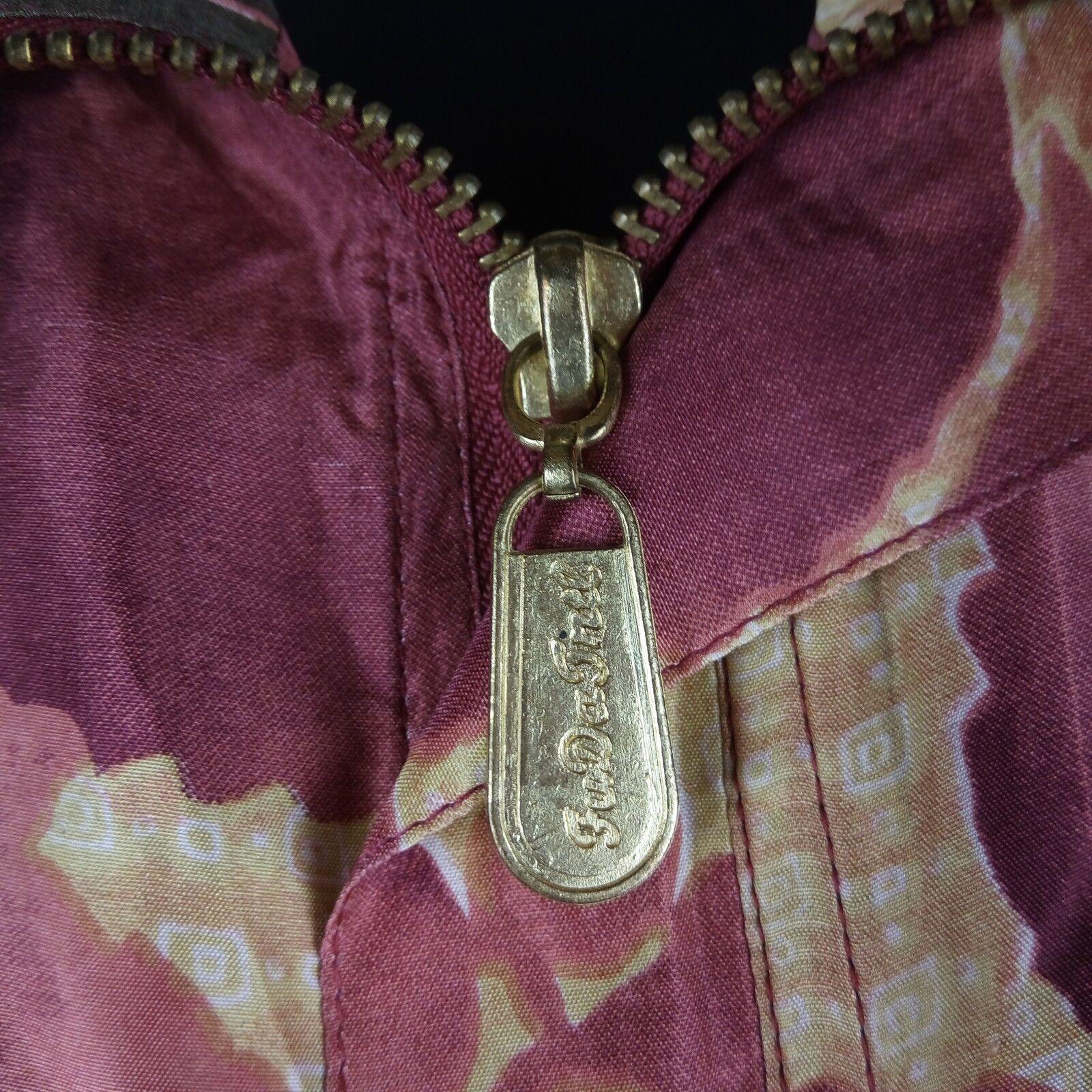 Fuda International Bomber Jacket Women Size M Pin… - image 8