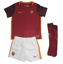 AS Rom Kinder Trikot Set Minikit Nike Camiseta Maglia Shirt 6-7years 116-122cm