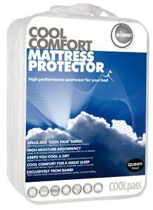 Bambi Coolpass Cool Comfort Mattress Protector