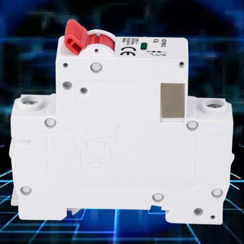 Mini 1-polig Leitungsschutzschalter Sicherungsautomat AC 230V 50//60Hz 6A 10A 20A