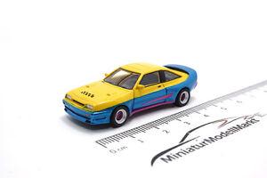 #87245 - BoS-Models Opel Manta B Mattig - gelb/blau - 1981 - 1:87