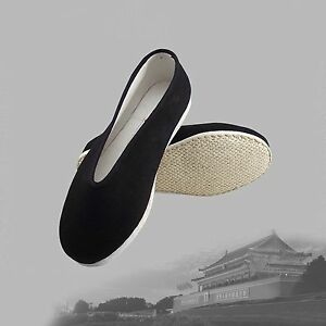 bbf77a729c0c Traditional Chinese Martial Jackie Chan Kung Fu Shoes Slip On Cotton ...