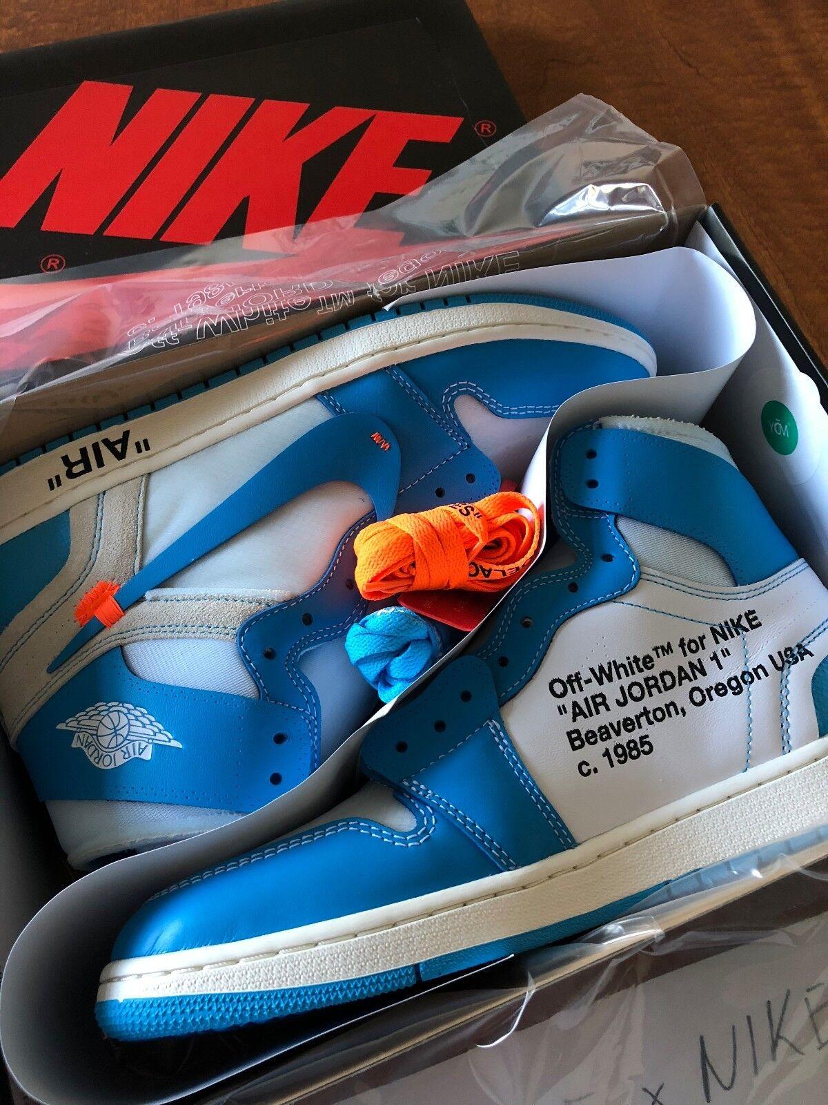 NIKE OFF WHITE x Air Jordan 1 Retro High