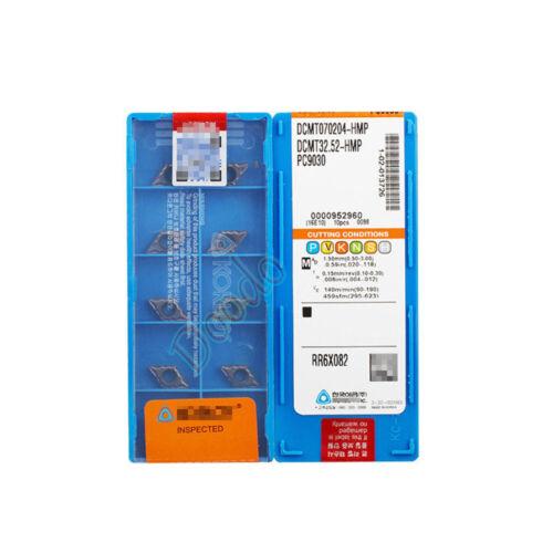 10P DCMT070204-HMP PC9030 DCMT21.51-HMP PC9030 Carbide inserts Top Quality