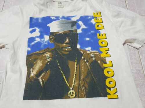 Vintage Kool Moe Dee shirt 1980s Rap shirt Rap tee