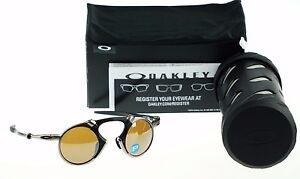 c01d7687716 Image is loading RARE-Collectors-OAKLEY-MADMAN-Polarized -Plasma-Tungsten-Sunglasses-