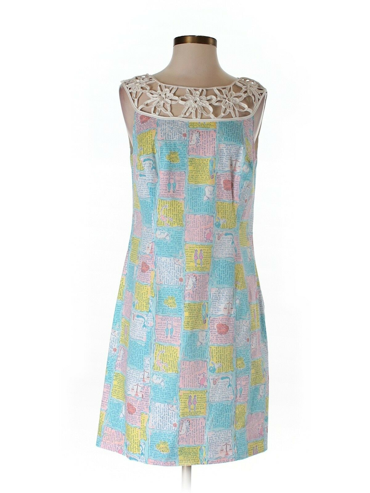 damen Lilly Pulitzer Lacina Written In The Stars HGoldscope  Dress Größe 6