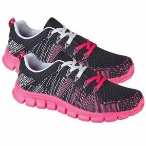 Zapatos-de-Mujer-Zapatillas-con-Cordones-Deporte-Running-Gimnasio-Jogging-Botas
