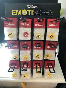 Enthousiaste Wilson Emotisorbs Vibration Amortisseurs De Carton Et Vitrine (sur 60), Neuf-afficher Le Titre D'origine