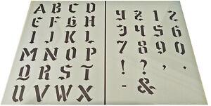 Numeros-letras-del-alfabeto-Plantilla-de-Plastico-37-39mm-H-Vintage-Shabby-Chic-Gotico
