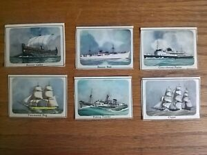 Anon. French confectionery trade cards package issue x11 Ships + Napoleonic Wars