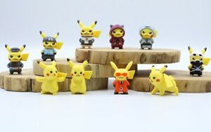 Pokemon-GO-10-pcs-1-5-034-Pikachu-Action-Figures-Set-Cake-Toppers-Party-Gift