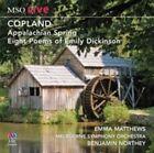 Matthews Emma Copland Appalachian Spring Eight Poems of Emily D CD ABC Clas