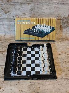 VINTAGE-da-viaggio-set-di-scacchi-in-scatola-e-completa