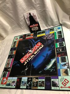 Property Card Board Monopoly Star Wars Classic Tri Edition Parts:Tokens Money
