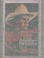 KEN MAYNARD/BOOTS OF DESTINY vintage 70s iron on t shirt transfer NOS