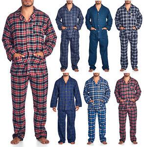 f0c2152195 Image is loading Ashford-amp-Brooks-Mens-Flannel-Plaid-Pajamas-Long-
