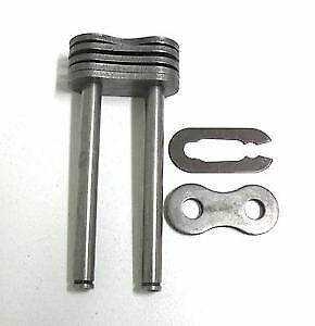 Triplex Enlace de conexión 08B-3 Clip de resorte tipo 1//2 Pitch