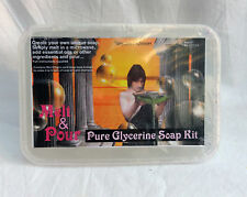 Pure Glycerine Soap Making Kit - Melt & Pour - Enough for 4/5 bars 475g