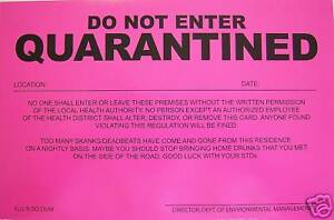 2-PRANK-NOTICES-Quarantined-Novelty-Sign