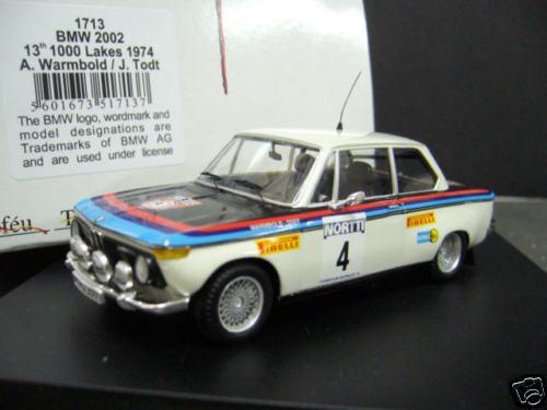 Bmw 2002 Rallye 1974 warmbold todt 1000 lagos Lakes Finlandia  4 Trofeu 1 43