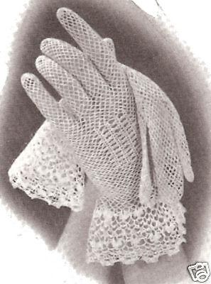 Vintage Crochet PATTERN Fishnet Westkit Vest Summer Top