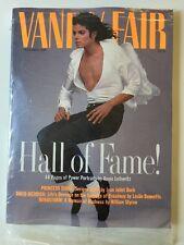 1989 December Vanity Fair - Michael Jackson Cover/Annie Leibovitz Portraits NEW