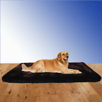 Large Memory Foam Orthopedic Pet Dog Bed Mat W/Removeable Washable Cover L/XL