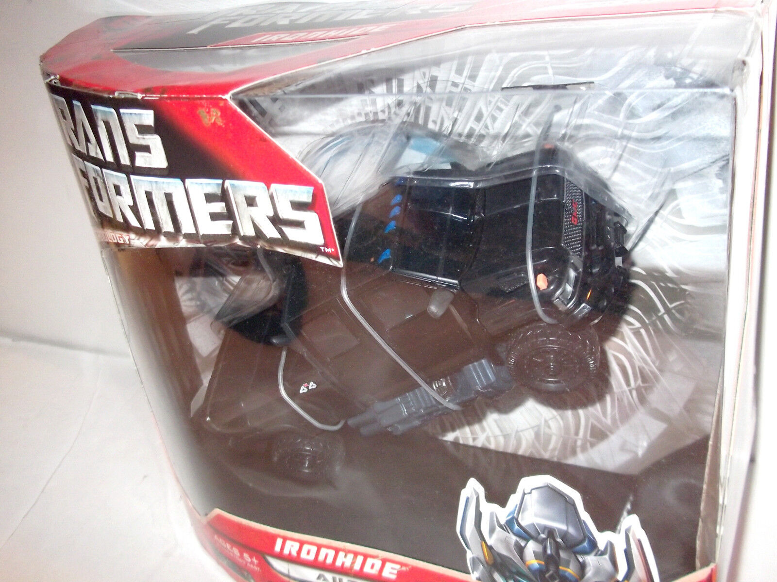 2007 ✰ Movie redF IRONHIDE Voyager (AUTHENTIC USA) Transformers revenge fallen
