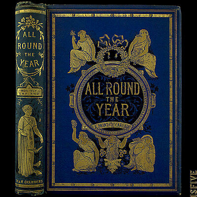 1885 JOHN LEIGHTON FINE BINDING ENGRAVINGS ILLUSTRATED VICTORIAN LEGEND FOLKLORE
