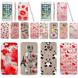For Iphone 6s Plus Case Silicone Gel Transparent Cover Elegant