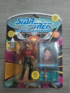 "Vintage Star Trek The Next Generation Commander William Riker 5"" Action Figure"