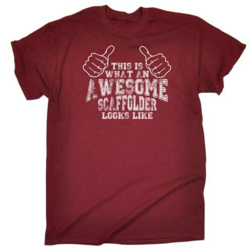 This Is What Awesome Scaffolder Looks Like Funny T-SHIRT