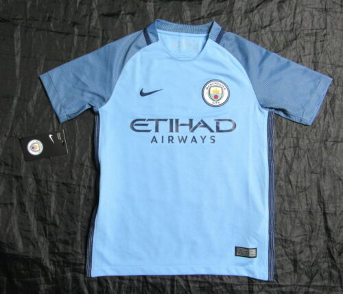 Manchester City jersey shirt NIKE Citizens 20172018 BOY S 128137cm 810 YRS