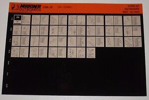 Microfich-Parts-Catalog-Mariner-Outboards-Ersatzteilkatalog-V-200-A2-10-1994