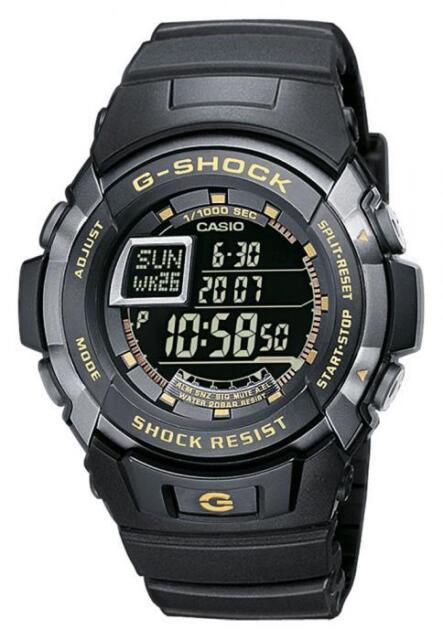 Casio G-Shock Watch G-7710-1ER Digital Black
