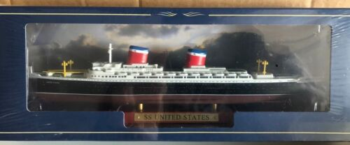 "DIE CAST /"" SS UNITED STATES /"" SCALA 1//1250  ATLAS EDITION"