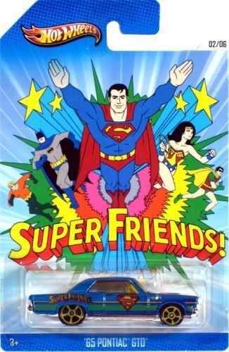 Hot Wheels Superman Edición Especial (BBX86) - Súper Amigos '65 Pontiac Gto 1:64