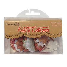 Dovecraft Krafty Christmas Paper Blossoms - 50 blossoms