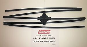 Image is loading Genuine-Coleman-Event-Shelter-Spare-New-Poles-Replacement- & Genuine Coleman Event Shelter Spare New Poles Replacement Roof ...